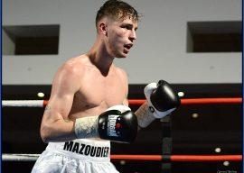 KS Promotions Main Event Mazoudier boxer
